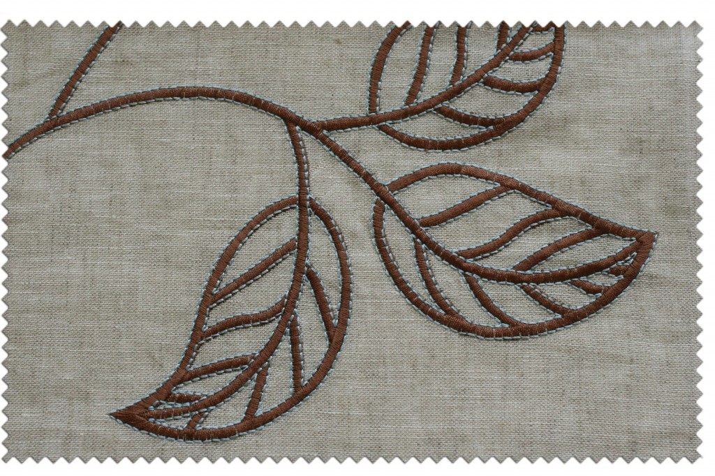 Usher in autumn with embroidered linens