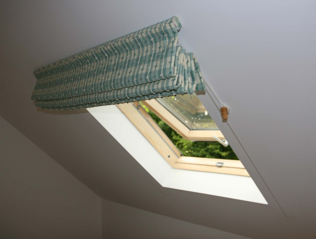 Roman Blinds For Sloping Ceilings Moghul Interiors Blog