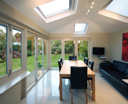 bifold doors from the CEDAR bifold company