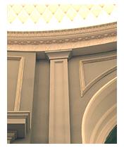 restaurant pilaster