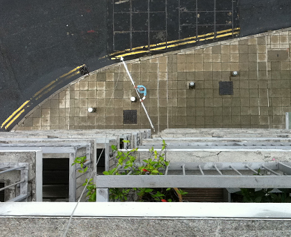 Horizon Building Canary Wharf Moghul curtain track