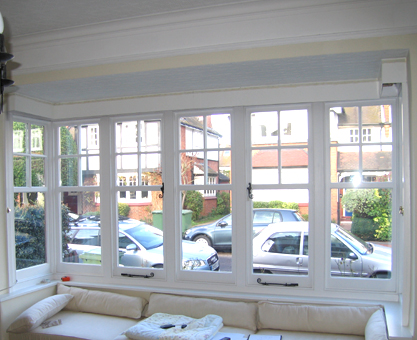 square bay window roman blind blog