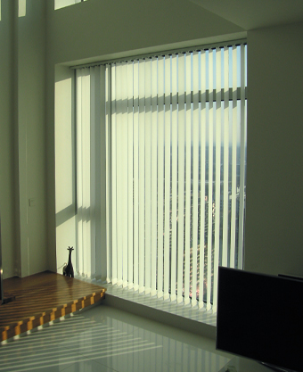 Vertical blinds Canary Wharf Pan Peninsula Square