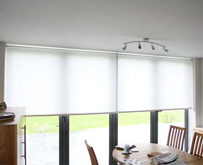 roller blinds for bifold doors, from Moghul