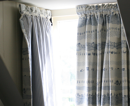 dormer rod curtains Moghul