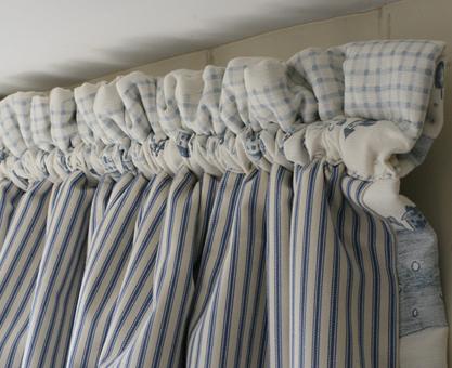 dormer window curtain