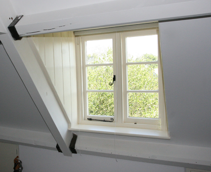 dormer window roman blinds - Moghul