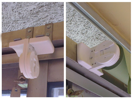 Bespoke brackets for Silent Gliss 4910 system - Moghul