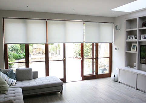 somfy electric roller blinds south London