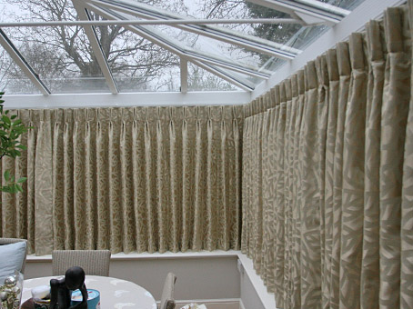 made to measure conservatory curtains