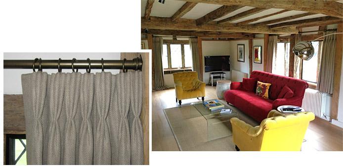 volga linen curtains sitting room