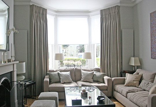 bay window curtains chiswick