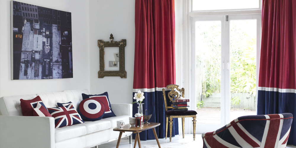 rule brittania curtains
