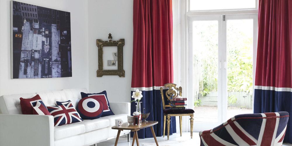 rule brittania curtains