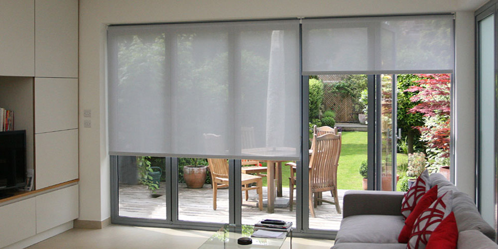 silent gliss colorama alu roller blinds