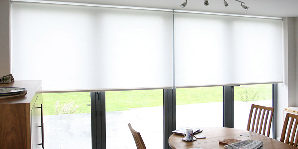 roller blind for bifold doors