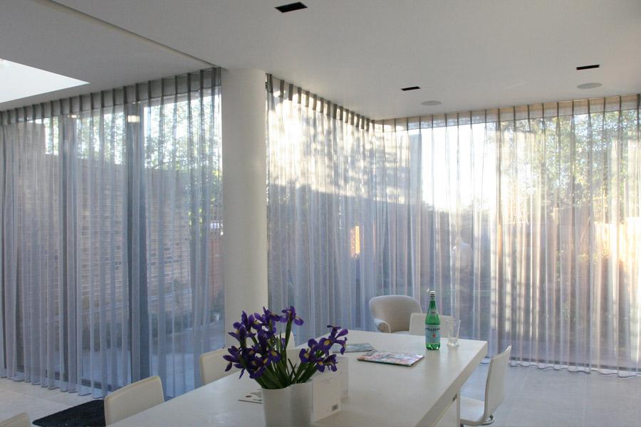 Curtains For Sliding Amp Bifold Doors Moghul Interiors